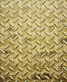 Gold tread or diamond plate — Stock Photo