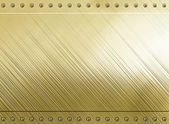 Gold metal background texture — Stock Photo