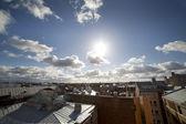 çatılar, riga. — Stok fotoğraf