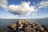 Breakwater. — Stock Photo