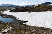 ノルウェーの山々. — ストック写真