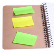 Sticky notes . — Stock Photo