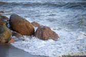 Stones in water. — Stock Photo