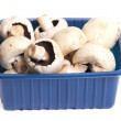 Mushrooms in the box. — Foto de Stock