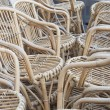 Cane chairs. — Foto Stock