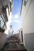 Anacappri gatan, italien. — Stockfoto