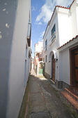 Anacappri street, Italy. — Stock Photo