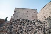 Ruiny pompei. — Zdjęcie stockowe