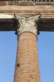 Filar, ruinami pompei. — Zdjęcie stockowe