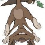 Постер, плакат: Cheerful monkey Cartoon