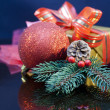 Royalty-Free Stock Photo: 2012 Christmas gift