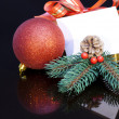Royalty-Free Stock Photo: 2012 Christmas gift.