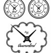 Vintage clock set — Stock Vector #10420913