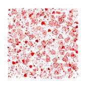 Valentine pozadí pro váš návrh — Stock vektor