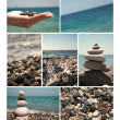 Summer vacations, sea collection for your design — Stock Photo
