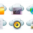 Cloud storage concept — Stock Photo #10426382