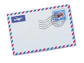 航空便の封筒 — ストックベクタ