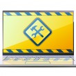 Royalty-Free Stock Vector Image: Modern laptop