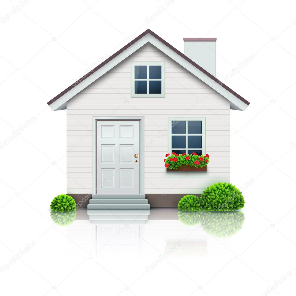House icon stock vector ladyann 8203051 for Pictures of the home