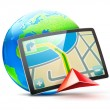 Stockfoto: Global positioning system