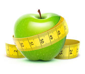 Groene appel — Stockfoto
