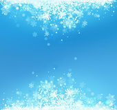 Winter abstract background — Vector de stock
