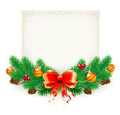 Christmas frame — Vetorial Stock