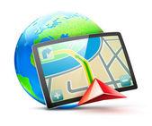 全球定位系统 — 图库矢量图片