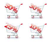 Discount concept — Stock Vector