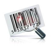 Codice a barre adesivo — Foto Stock