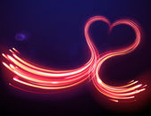 Magic heart shape — Foto Stock