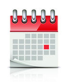 Calendar icon — Stockvektor