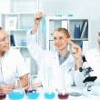 Royalty-Free Stock Photo: Young scientists working in laboratory