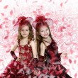 Little girl dressed up in beautiful dress — ストック写真 #10066726