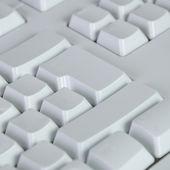 Blank computer keyboard — Stock Photo