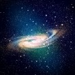 Stock Photo: Space galaxy image