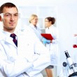 Scientists in laboratory — Stock Photo #10129283