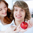 Young couple — Stock Photo #10259652