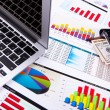 Graphs, charts, business table. — Stock Photo #10261424