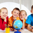 Stock Photo: Group of pupils