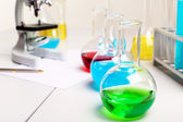 Chemistry or biology laborotary equipment — Stock Photo
