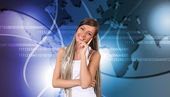 Global technologies and communications — Stock Photo