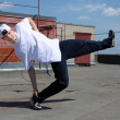 Stock Photo: Street dancer outdoors
