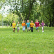 Group of children in the park — Stock Photo #8559523