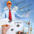 Royalty-Free Stock Photo: Construction industry collage
