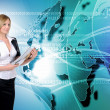 Global technologies and communications - Stock Photo