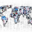 World map background — Stock Photo #9399856