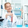 Young scientist working in laboratory - Lizenzfreies Foto