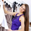 Young woman doing shopping - Stock fotografie