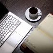 Coffee at business workplace — Stock Photo #9870741